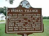 Indian Village - Louisiana Historical Markers on. Ancestors on my mom's side of the family from this reservation.
