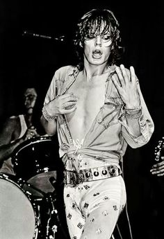 "classic-rock-posts: ""Mick Jagger "" by Walter Vogel The Rolling Stones, Mick Jagger Rolling Stones, Keith Richards, Charlie Watts, Georgia May Jagger, Melanie Hamrick, El Rock And Roll, Moves Like Jagger, Pop Rock"
