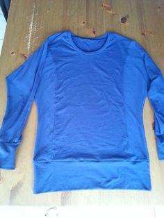 T-shirt Julia-patroon