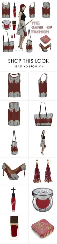 """""""The game of FASHION"""" by annabellerockz ❤ liked on Polyvore featuring Nocturne, Manic Panic NYC, John Lewis and Tom Ford"""