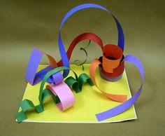 University of Mississippi Museum Education Blog: Paper Sculptures