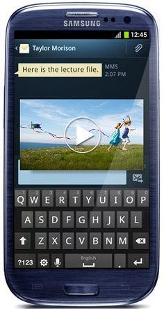 #Samsung Galaxy S3 Blue  Like,repin,share!