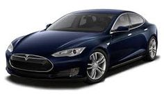 Tesla Model S...I might have to look into test driving one of these and order me one in blue...driving for the future...