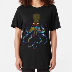 Artists-shop Shop | Redbubble Pulp Fiction Shirt, Coconut Octopus, Sleep Band, Colorful Jellyfish, Cute Octopus, Tentacle, Artists, Mens Tops, Shopping