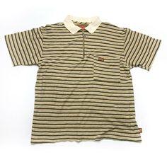 88a984f581ee0f Rare Vtg 80s BRONZE AGE Striped Zipper Shirt Surf Skate Fishbone Zorlac  Powell M