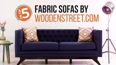Checkout #WoodenStreet #top5 #fabric #sofas #Designs.