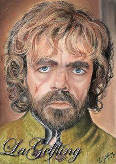 Los trazos de LaGelfling: Dibujando a Tyrion Lannister