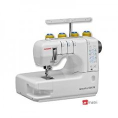 Janome Cover Pro Coverstitch Machine with Exclusive Bonus Bundle - Sew Vac Direct Sewing Machines Best, Sewing Machine Reviews, Sewing Hacks, Sewing Projects, Sewing Tips, Sewing Ideas, Long Arm Quilting Machine, Quilting Frames, Techniques Couture
