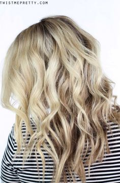 """Get the perfect soft waves by wrapping the hair around a 1"""" wand. Are you wrapping the hair around the barrel right? Come find out!"""