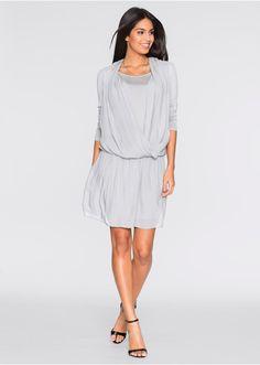 Džersejové šaty so šifónom Ženské • 24.99 € • bonprix