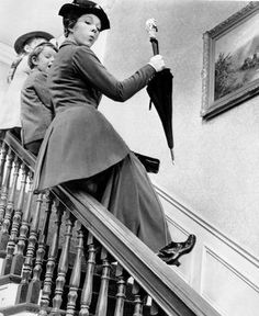 "Julie Andrews as ""Mary Poppins""."