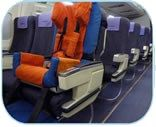 Special Needs airline seat--if the airlines each had just a handful of these, life would be soooo much easier!