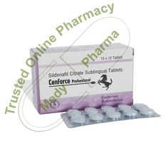 Buy Cenforce Professional Sildenafil is an FDA-approved medication used to treat erectile dysfunction problems in men. After being introduced in 1998, Cenforce Professional became the most popular treatment for erectile dysfunction issues. Cenforce Professional is a fast-acting medication that can last up to four hours.