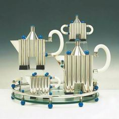 Silver Tea Set Designer: Michael Graves for Alessi