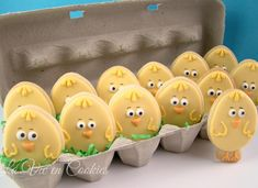 Chicks for Easter | Cookie Connection