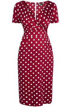 """The """"Lady Voluptuous"""" Ursula Dress is back at Lady V this Autumn/Winter - designed by..."""