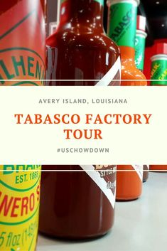 If you like it hot and spicy, and are a big fan of Tabasco, this is THE food tour for you! We walk through everything you need to know about how to take the Tabasco factory tour in Avery Island Louisiana.