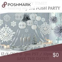 PARTY TIME!!! 💃💃🎉🎉🎉 I'm super EXCITED to announce that I'm co-hosting my 3rd POSH PARTY!!! 🙌💃🎉  Theme of party to be announce closer to the date!🤗💕 Hope to see you all there!💃🎉  I would love to feature closets that follow posh guidelines including the guidelines above. Also if you have never had a HOST PICK, please let me know for a Host Pick chance.   Let's Party and Have some FUN!!!💃🎉 Other