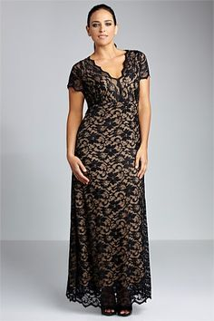 Dresses - Sara Lace Maxi dress