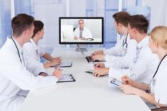 Doctors Having Video Conference Meeting In Hospital Stock Photo - Image of learning, examination: 44595386 Conference Meeting, Hospital Photos, Health Care, Medical, Stock Photos, Doctors, Image, 3d Wallpaper, Pearls