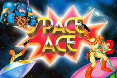 Space Ace. 80s cartoons