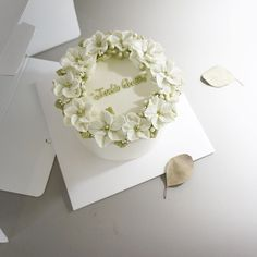 Beautifully simple cake.