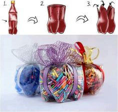 bolsas de regalo en plastico.