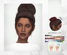 Nightcrawler Flirt Hair Retextures at Miss Paraply • Sims 4 Updates
