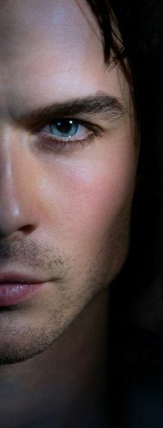 Beware of cute vampires with really blue eyes-Ian Somerhalder