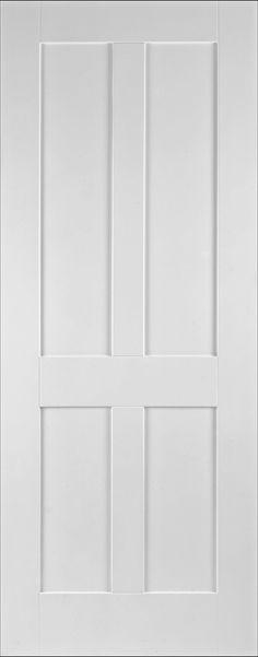 Internal Door White Shaker Victorian Panel Fire Door Doors