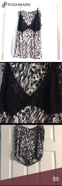 MORGAN TAYLOR intimates Woman cami and short set. MORGAN TAYLOR intimates Woman cami and short set.  sz 2X. Black Lace and bow detailing on Cami. Excellent condition. Morgan Taylor Intimates & Sleepwear