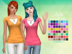 Image result for sims 4 maxis match female shirts