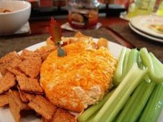 Buffalo Chicken Cheeseball