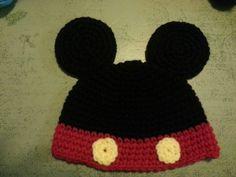 Mickeys mouse beanie.