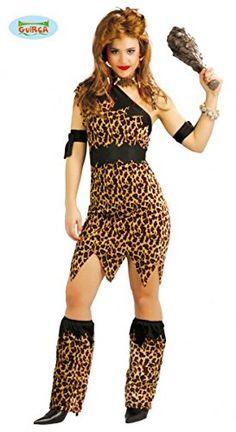 Disfraz para mujer de Troglodita o Cavernícola Disfraz Cavernicola 3b46f5c2a59