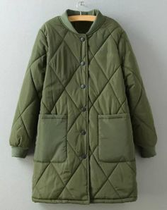 quilted winter coat