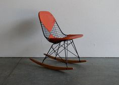 Eames for Herman Miller Wire Chair RockerRKR by CoMod on Etsy