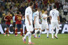 La España elimina Francia durante el partido del sábado #futbol #deporte #euro2012