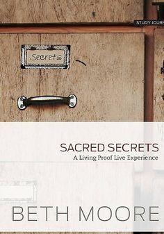 Sacred Secrets - Study Journal: A Living Proof Live ...