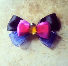Anna Inspired Disney Hair Bow by BowsbyBryanne on Etsy, $8.00
