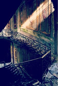 The stories this staircase would tell if it could talk...writing peompt