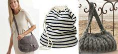 Des liens vers des patrons de tricot gratuits - Sacs - En français