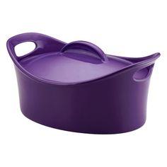 dark purple and black set // Soho Lounge Square 16-Piece Dinnerware ...