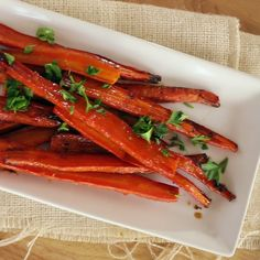 Try this recipe and your roasted carrots will be so sweet and so rich, it wont even be fair.