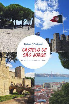 Saiba como visitar o Castelo de São Jorge em Lisboa, Portugal. Todas as informações para realizar a visita, horários, valores, o que ver e o que fazer no Castelo de São Jorge em Lisboa.