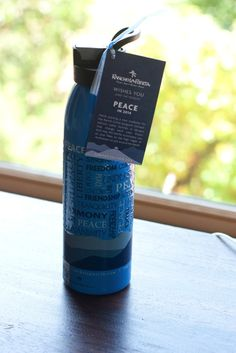 Rancho La Puerta Water Bottle via Eating Bird Food