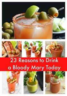 23 Reasons to Drink a Bloody Mary Today