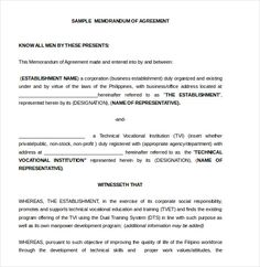 Sample Memorandum of Understanding Template. Memorandum of Understanding. Between (Companion) and (Companion) This Memorandum of Understanding (MOU) units for High School Syllabus, Civil Service Reviewer, Address Book Template, Syllabus Template, Legal Forms, School Projects, Book Lists, Sample Resume, Words