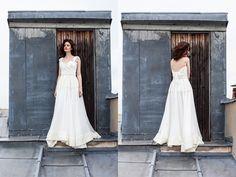 Les robes de mariée de Marion Kenezi - Collection 2016 - Paris | Modèle: Joker & Sabine | Photographe: Gwel | Donne-moi ta main - Blog mariage