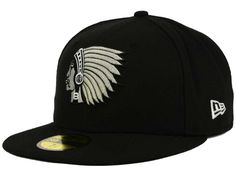 premium selection 699c4 a6d9f Boston Braves New Era MLB Black and White Fashion 59FIFTY Cap
